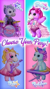Download Pony Sisters Pop Music Band - Play, Sing & Design for PC and MAC
