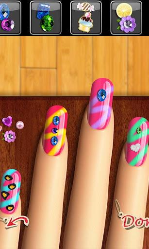 Code Triche Glow Nails: Manicure Nail Salon Game for Girlsu2122 APK MOD screenshots 4