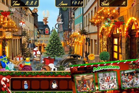 Hidden Object Christmas Holiday Magic Objects Game- screenshot thumbnail