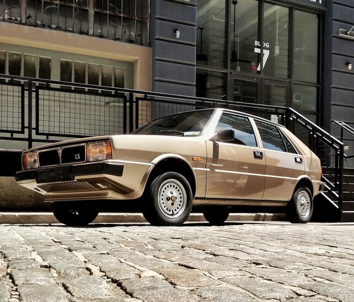 1982 Lancia Delta LX (gold/champagne) Hire Brooklyn
