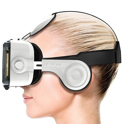 Procus PRO (White) Virtual Reality Headset