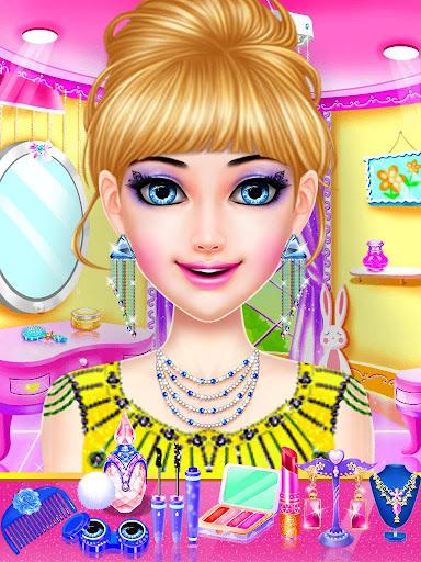 Dress Up Girls Game : Stylist - Fashion Salon  captures d'écran 1