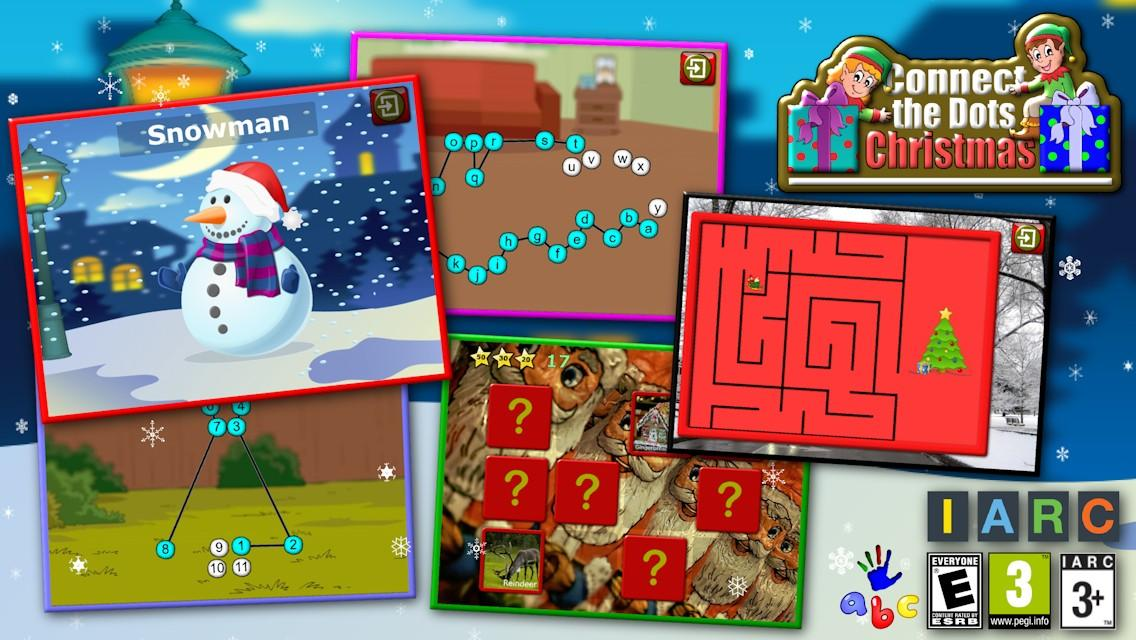 Kids Christmas Join the Dots- screenshot
