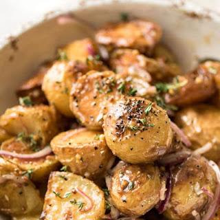 Honey Mustard Warm Potato Salad Recipe