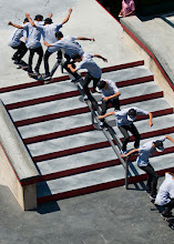 Photo: Nyjah Huston can't be stopped, Skateboard Street finals in LA