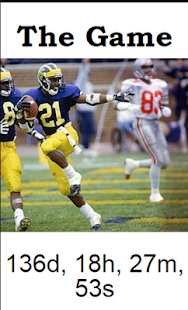 Michigan Football Database- screenshot thumbnail