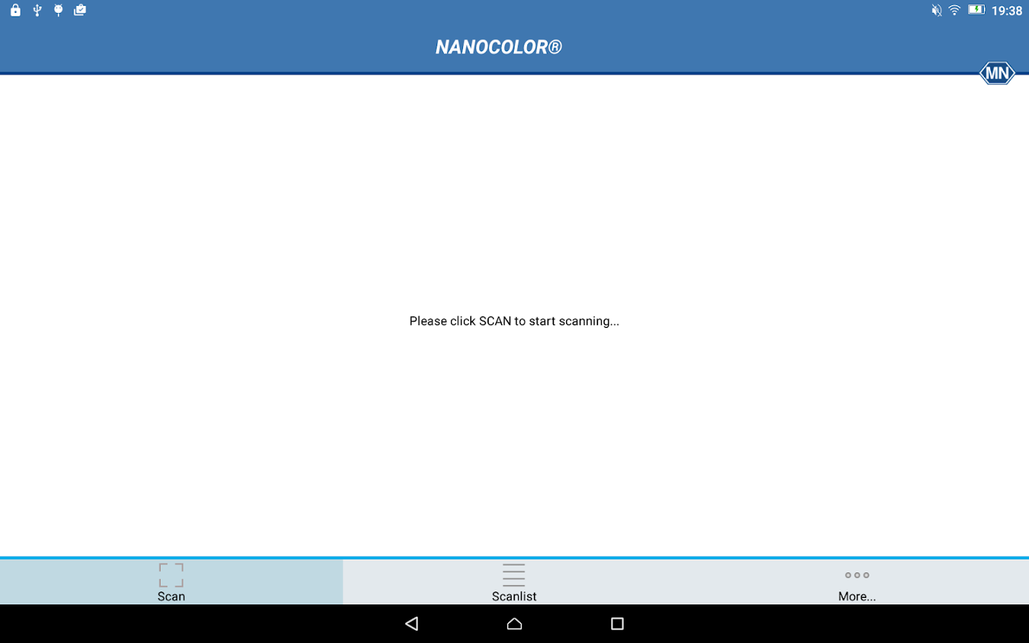 NANOCOLOR®- screenshot