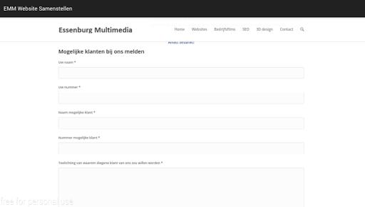 EMM - Website Promotie