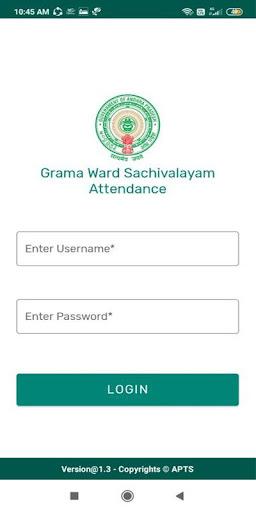 Grama Ward Sachivalayam Attendance
