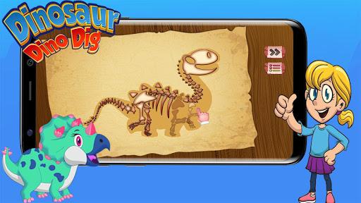 Télécharger Digging Games - Find Dinosaurs Bones  APK MOD (Astuce) screenshots 1