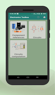 Electronic components & Circuit calculator App Download for Android 1