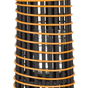 Decoratiune de podea, Turn din ratan, 15.5 x 56 cm