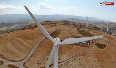 Photo: Αεροφωτογραφίες, Αιολικό πάρκο Άνω Μούλια Κρήτη