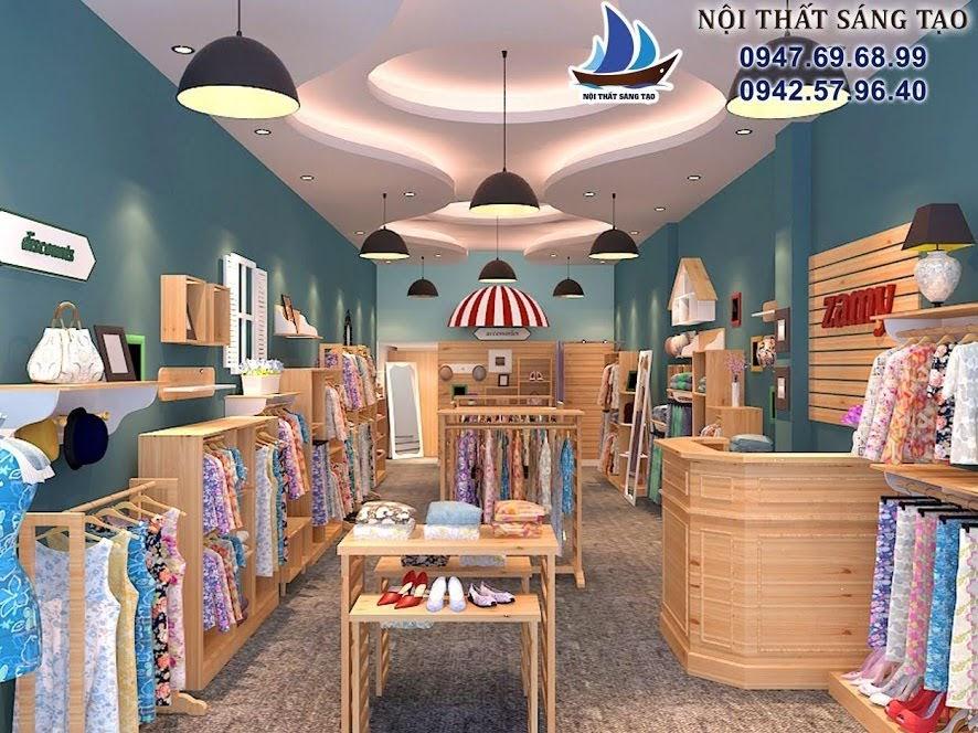 thiết kế shop thời trang hiện đại 22