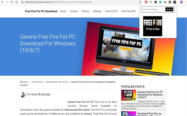 Free Fire for PC Tips & Tricks
