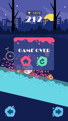 Unicycle Downhill screenshot 4