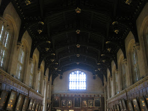 Photo: Great Hall at Christ Church College, Oxford