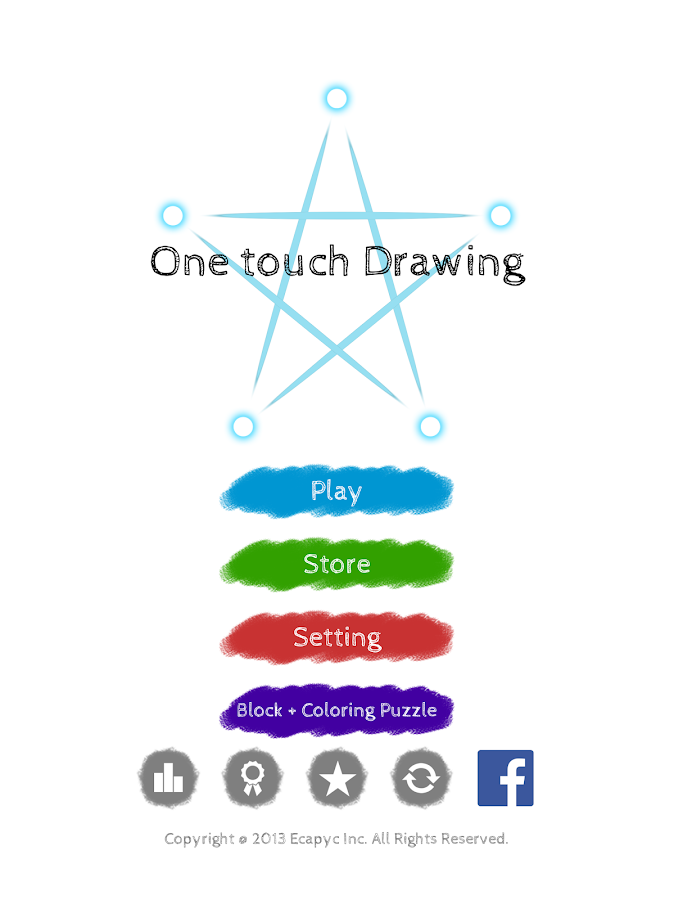One touch Drawing- screenshot