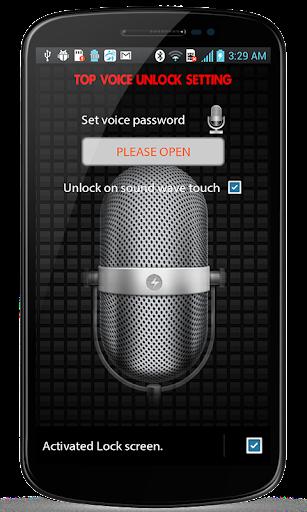 Top Voice Screen Lock