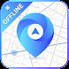 GPS、オフラインマップ、ナビゲーション