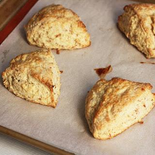 Quick Toasted Coconut Scones