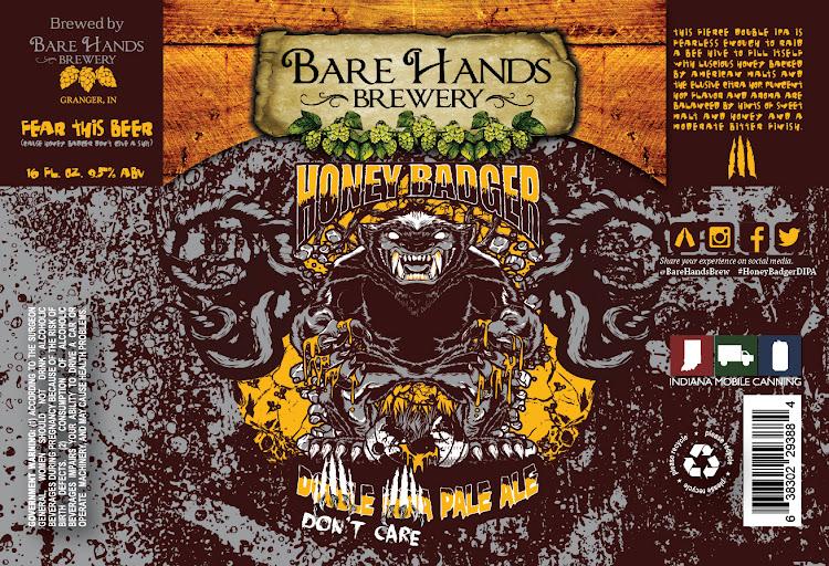 Logo of Bare Hands Honey Badger