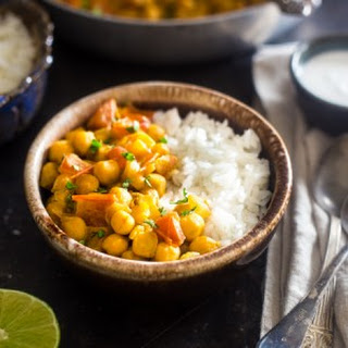 Creamy Vegan Chickpea Curry