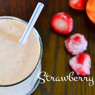 Strawberry Peach Smoothie