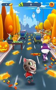 Talking Tom: Corrida do Ouro Screenshot