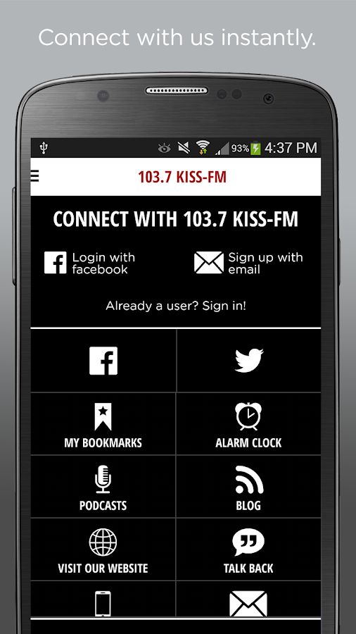 103.7 KISS-FM - Milwaukee- screenshot