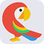 How to draw a parrot APK icon