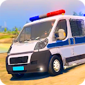Police Van Gangster Chase - Police Bus Games 2020 icon