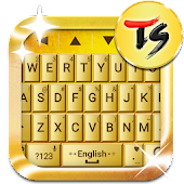 Gold Bar Skin for TS Keyboard