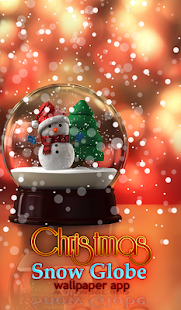 Christmas Snow Globe Wallpaper App - náhled