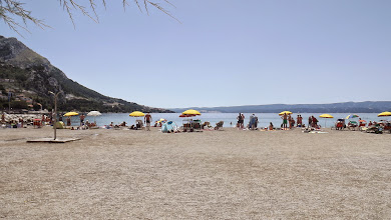 Photo: Omis-beach