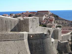 Photo: Dubrovnik falai, Dubrovniki bástyák, Dubrovnik, Raguza, Adria, Dubrovnik falrendszere