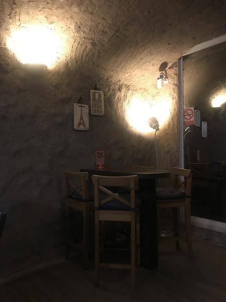 超神秘的地下走道,但餐點很普通  可能是剛開店,沒訂位~ 口氣聽起來不太好、嚐鮮一下