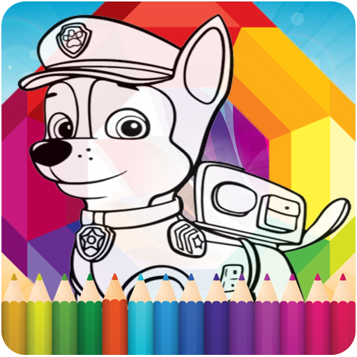 How To Color Paw Patrol Game