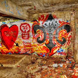Graffitti by Ron Olivier - Digital Art Things ( grafiti,  )