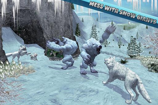 arctic wolf family simulator screenshot 2