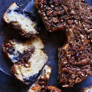 Blueberry Streusel Coffee Cake.
