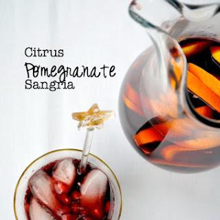 Citrus Pomegranate Sangria