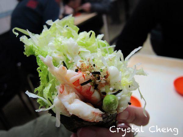 今日壽司店 料滿滿又新鮮蝦手捲 臨江街夜市內平價老牌台式壽司小店 (日式)