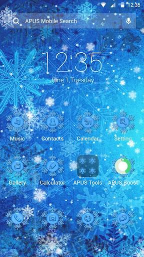Frozen theme for APUS