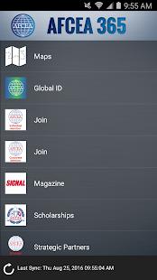 AFCEA 365 screenshot