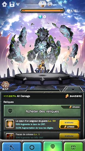 Code Triche Monster Warlord apk mod screenshots 6