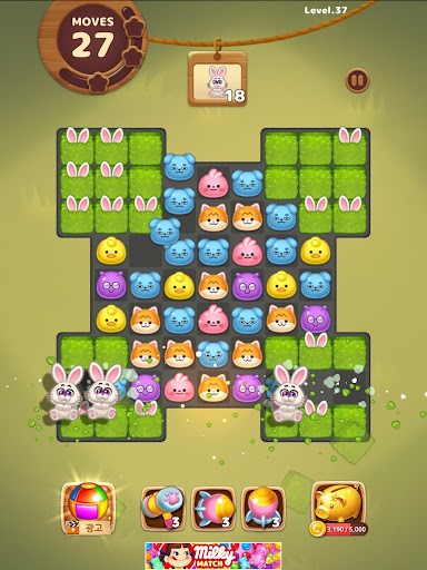 Candy Friends Forest : Match 3 Puzzle 1.1.4 screenshots 15