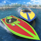Extreme Speed Boat Racing - Water Surfer Game icon