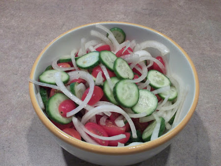 Tomato Cucumber Summer Salad Recipe