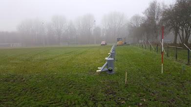 Photo: Drainage putten klaargezet